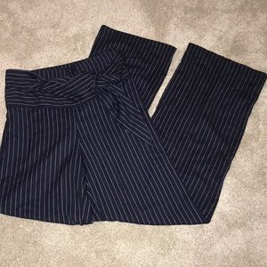 Pants - Stripped Bell-Bottoms